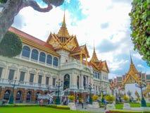 O palácio grande em Banguecoque, Tailândia imagens de stock royalty free