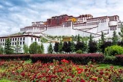 O palácio magnífico de Potala foto de stock royalty free