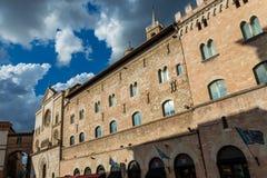 O palácio medieval Imagem de Stock Royalty Free