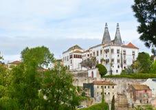 O palácio de Sintra Fotos de Stock