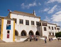 O palácio nacional de Sintra, Portugal Imagens de Stock