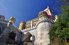 O palácio no sintra Lisboa Portugal Imagem de Stock Royalty Free