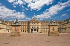 O palácio novo, em Estugarda, Alemanha Foto de Stock Royalty Free