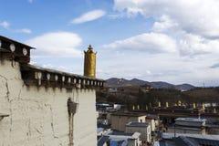 O palácio pequeno de Potala fotos de stock