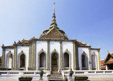 O palácio real em Banguecoque Fotos de Stock Royalty Free