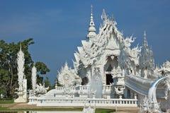 O palácio snow-white Imagens de Stock Royalty Free
