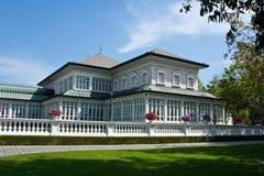 O palácio velho em Ayutthaya Imagens de Stock