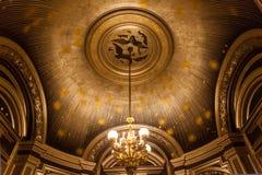 O Palais Garnier, ópera de Paris, detalhes arquitectónicos Imagem de Stock Royalty Free