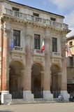 O palazzo de Capitaniato Imagens de Stock Royalty Free