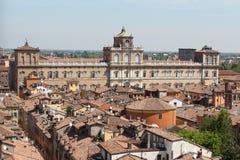 O palácio ducal, Modena Foto de Stock Royalty Free