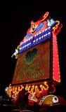 O palhaço alegre do casino Imagens de Stock