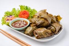 O Pandanus fritado galinha é delicioso Imagens de Stock Royalty Free