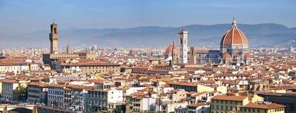 O panorama de Florença imagens de stock royalty free