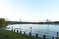 O panorama de Moscou foto de stock royalty free