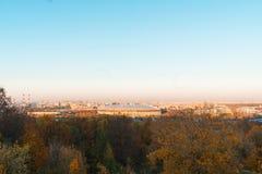 O panorama de Moscou imagens de stock royalty free