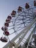 O panorama roda dentro o parque de Herastrau, Bucareste Imagem de Stock