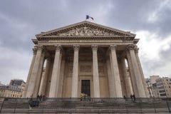 O panteão na cidade de Paris, França Fotos de Stock