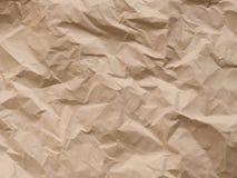O papel amarrotado, ilumina o fundo textured foto de stock royalty free
