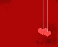 O papel de parede do amor Foto de Stock