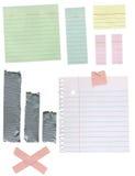 O papel textures fundos Fotos de Stock