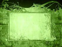 O papel velho do estilo floral textures o frame Fotos de Stock
