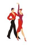O par dança o paso doble Imagem de Stock Royalty Free