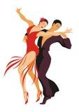 O par dança um samba Imagem de Stock Royalty Free