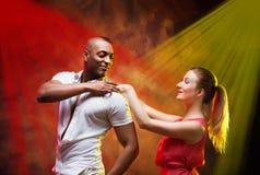 O par novo dança a salsa do Cararibe Foto de Stock Royalty Free