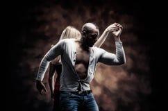 O par novo dança a salsa do Cararibe Imagem de Stock Royalty Free