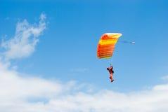 O parachuter Fotos de Stock