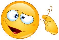 O parafuso afrouxa o emoticon ilustração do vetor