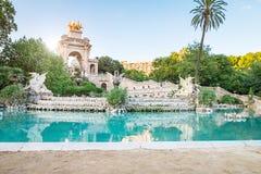 O Parc de la Ciutadella foto de stock royalty free