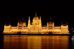 O Parlament de Budapest Imagem de Stock Royalty Free