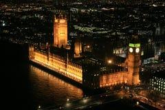 O parlamento abriga em Londres Fotografia de Stock Royalty Free