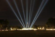 O parlamento abriga, ilumina Imagens de Stock