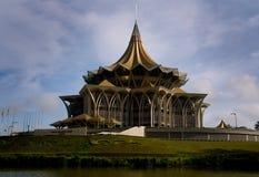O parlamento abriga, Kuching, Malaysia Fotografia de Stock Royalty Free