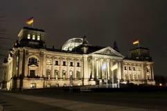 O parlamento alemão, Reichstag, Berlim fotografia de stock royalty free