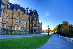 O parlamento anda Foto de Stock Royalty Free
