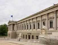 O parlamento austríaco imagem de stock