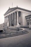 O parlamento austríaco, Viena, Áustria Fotografia de Stock Royalty Free