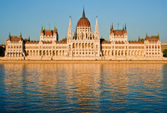 O parlamento, Budapest Imagens de Stock
