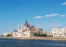 O parlamento, Budapest, Hungria Fotografia de Stock
