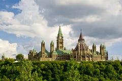 O parlamento canadense Foto de Stock
