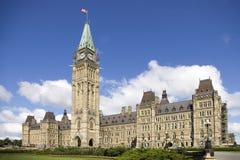 O parlamento canadense Imagens de Stock