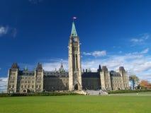 O parlamento canadense Fotografia de Stock