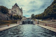 O parlamento canadense em Ottawa Fotografia de Stock Royalty Free
