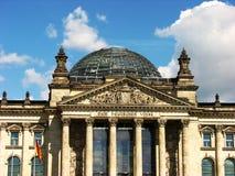 O parlamento de Berlim/Reichstag, Alemanha Imagem de Stock