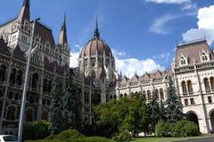 O parlamento de Budapest Fotografia de Stock Royalty Free