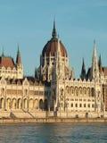 O parlamento de Budapest Fotos de Stock Royalty Free