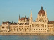 O parlamento de Budapest Foto de Stock Royalty Free